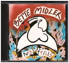 Bette Midler - No Frills CD West Germany Target