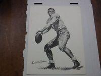 National Sports Council Doak Walker Study Hints Print 1958 011217jh