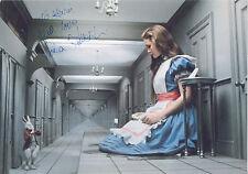 FIONA FULLERTON Signed 12x8 Photo ALICE IN WONDALAND & A VIEW TO A KILL COA