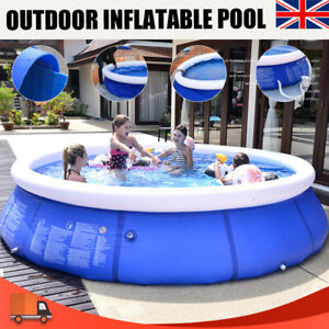 8/10FT Family Swimming Pool Garden Outdoor Summer Inflatable Kids Paddling Pools