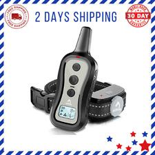 New listing Dog Training Collar Shock Collar Remote Mode Beep Vibration Sho Range Rainproof