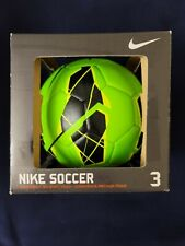 New listing Nike *Brand New In Box* Pitch Soccer Ball Green Size 3