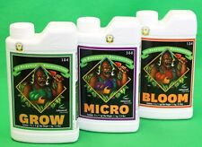 Advanced Nutrients Grow Micro Bloom Bundle pH Perfect Base Hydroponic Booster