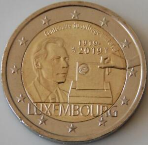 Pièce commémorative neuve de 2 euro ( Luxembourg 2019 )