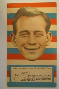 Footscray - 1953 - Vintage -Argus - Large Size Football Portrait- Jack Collins