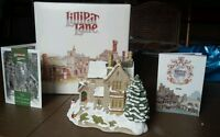 Lilliput Lane The Old Vicarage at Christmas Cottage