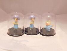 The Simpsons Small Mini Figures W/ Dome Cases Maggie Selma Minature