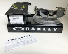 NEW Oakley Sunglasses GASCAN DESOLVE BARE / BLACK IRIDIUM OO9014-12