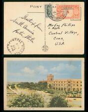 Mayfairstamps Colombia to Central Village CT Hotel del Prado Postcard wwr_02475
