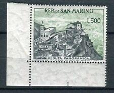 San Marino 1958 veduta adf mnh
