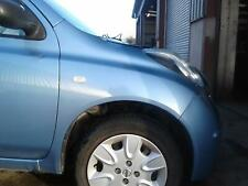 2009 NISSAN MICRA COMPLETE RIGHT FRONT WING PAINTCODE B33