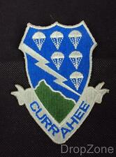 US Army 506th Parachute Inf Reg Airborne Currahee Blazer Badge Band of Brothers