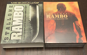 Rambo: The Complete Collectors Set (DVD, 4 Films, 2008, 6-Disc Set) New