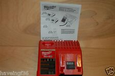 Brand  New Milwaukee M12 and M18 Dual Battery Charger Lithium - Ion