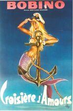 Original vintage poster BOBINO DANCE REVUE PARIS GIRL c.1970