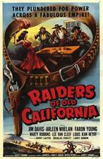 RAIDERS OF OLD CALIFORNIA 1957 Western Drama Movie Film PC iPhone INSTANT WATCH