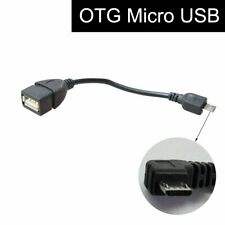Micro USB Male to USB Female OTG Cable for Car GPS Stereo Head Unit Tablet PC