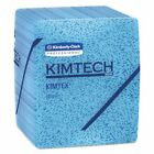 Kimtech 33560 Industrial Prep Quarterfold Wipers, Blue, 8 Boxes (KCC33560) photo