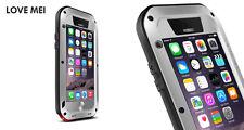 Coque iPHONE 6 - 4.7- LOVE MEI FRANCE Originale, antichoc et étanche  Gris