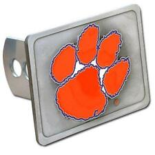 Clemson Tigers Trailer Hitch Receiver Cover Heavy Duty Metal Class II & III