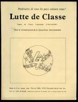 REVUE LUTTE DE CLASSE N°12. FEVRIER 1968. ANGLAIS/ FRANçAIS;