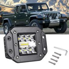 "5"" 39W LED Work Light Flush Mount Flood Driving Lamp OffRoad FOG 4WD Auto Truck"