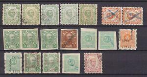 Bosnia Herzeg - 1874/1905 -  collection - errors_ungezahnt etc
