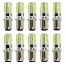 10x BA15D LED Light Bulb Fit Singer FW 221 black/301A/401A White Equivalent 50W