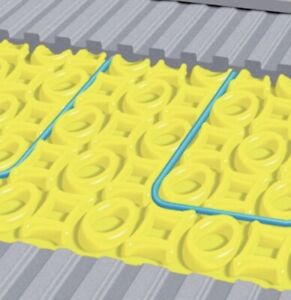 Dural Durabase CI FH Underfloor Heating/Decoupling Mat 15m² Roll