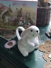 Home Essentials White Easter Spring Baby Bunny Milk Cream Pitcher