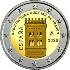 ESPAÑA 2 EUROS 2020 - ARQUITECTURA MUDEJAR DE ARAGÓN.spain 2 Euro 2020