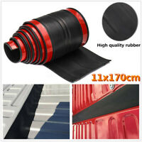 170cm Universal Rubber Truck Bed Tailgate Gap Guard Cover Filler Lip Cap   #