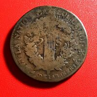 #1539 - RARE - Louis XVI 2 sols 1792 BB. - FACTURE