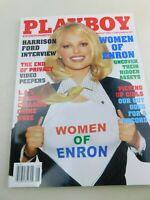 Playboy August 2002 Christina Santiago Harrison Ford Amanda Peet