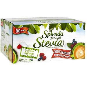 SPLENDA Naturals Stevia Sweetener Packets (500 ct