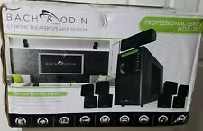 Bach & Odin Hdx-707 Professional Series 5.1 Home Theater System Never Used.