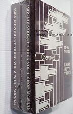 1985 Chevy Pick-up Truck Suburban Van Factory Shop Service Manual C K G 10 20 30