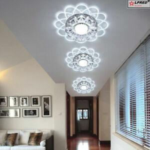 3W Crystal Ceiling Spotlight LED Aisle Lamp Downlight Wall Light