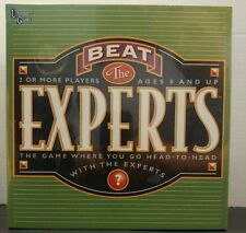 Sealed New Beat the Experts Boardgame from University Games 01846