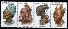 SWA-South West Africa 1982 tribal africano tocados serie 1 SG 402-405 estampillada sin montar o nunca montada