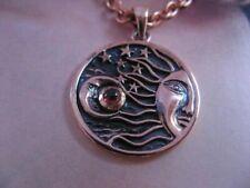 Copper Pendant and Chain Set CTP3146-G