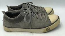 UGG Australia Evera Pewter Suede Shearling Sneakers Womans Size 8 1888