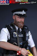 """Modeling Toys 1/6 Scale 12"""" British Metropolitan Police Armed Officer MMS9002"""