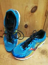 [Read] Mizuno Wave Rider 15 Mens Blue Green Orange White Running Shoes Size 14