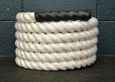 """30' x 1.5"""" Poly Battle Rope CrossFit MMA Battling Strength Training Boot Camp"""