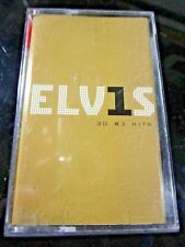 ELVIS PRESLEY 30 #1 HITS VERY RARE UKR ORIGINAL TAPE CASSETTE ROCK n' ROLL~