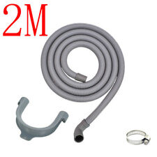 2 Metre Washing Machine Drain Hose Outlet For Samsung DC97-00139Y DC97-09447B