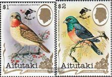 Aitutaki 675-676 (kompl.Ausg.) postfrisch 1990 Briefmarkenausstellung
