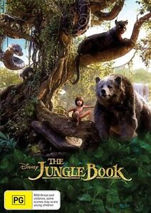 The Jungle Book 🎬 DVD Region 4 PAL 🎬 🆕