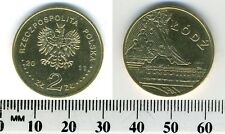 Poland 2011 - 2 Zlote Brass Collectible Coin - City of Lodz